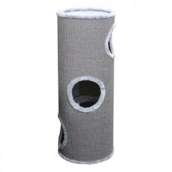 Europet Rascador Cat-Dome Everlast-Tower 3 Niveles Gris 37 x 37 x 100 cm
