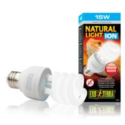 Exo Terra Natural Light Ion lámpara UVA para reptiles 25 w