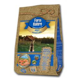 Farm Nature Adulto Salmón y Arroz 2.5 kg