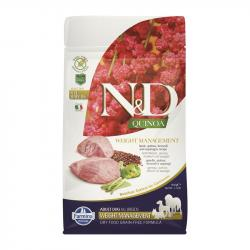 Farmina N&D Grain Free Quinoa Adulto Weight Management Cordero para Perros 7kg