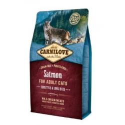 Feline Adult Salmón Sensitive Long Hair 400g