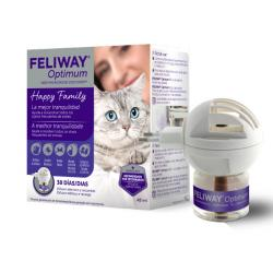 Feliway Optimum Feromonas Difusor+Recambio 48ml