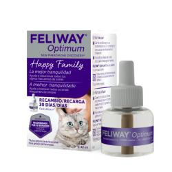 Feliway Optimum Gato Feromonas Recambio 48 ml