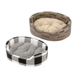 Ferplast Cama Dandy 95 Cushion Checks Cities para Perros