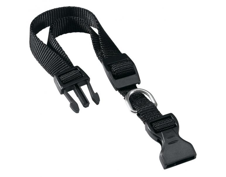 Ferplast Collar de Nylon Club Negro 1,5x34cm