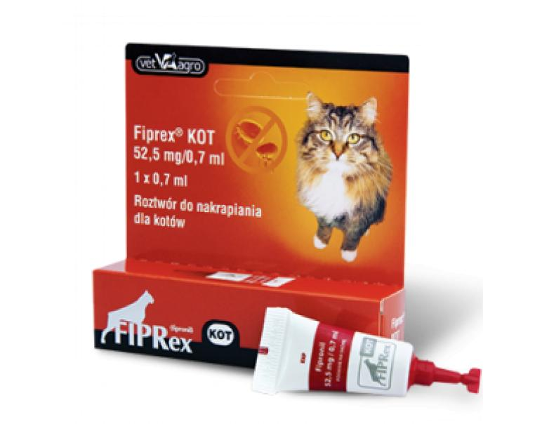 Fiprex Pipeta Antiparasitaria Gatos Spot-On 1 Unidad