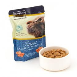 Fish4cat Salmón Mousse 100 g