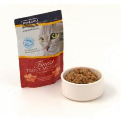 Fish4cat Trucha Mousse 100 g