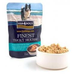 Fish4Dogs Finest Mousse de Trucha 100g