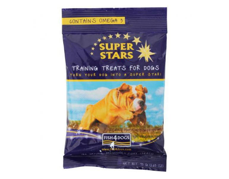 Fish4Dogs Super Stars 75g