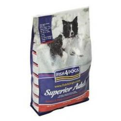 Fish4Dogs Superior Adult con Salmón 12 kg