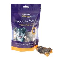 Fish4Dogs Wraps Banana 100g