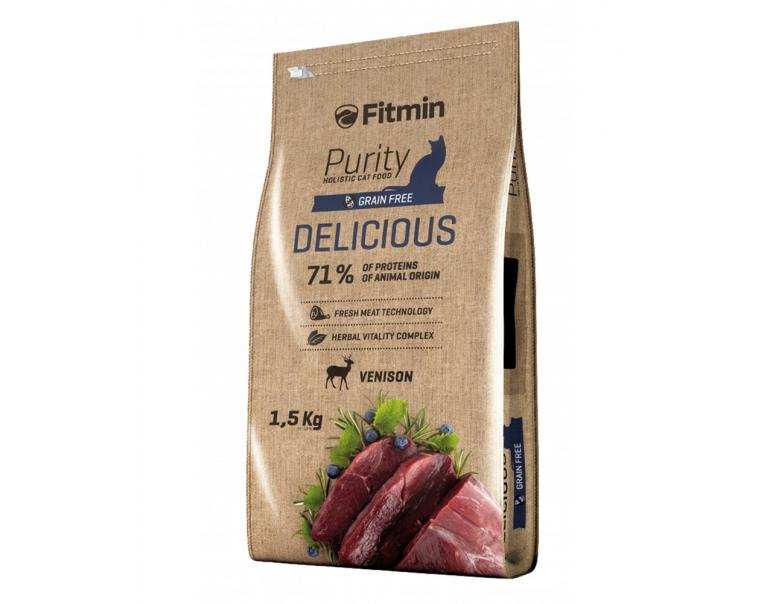 Dibaq Fitmin Cat Purity Delicious 400g