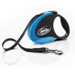 Flexi Collection Correa Cinta S Azul 3 m/12 kg