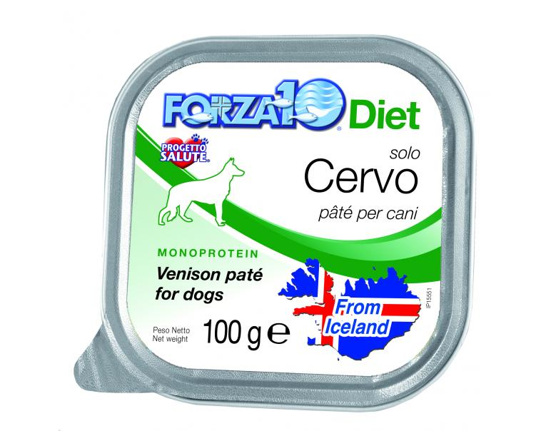 PACK AHORRO Forza10 Diet Solo Ciervo 6x100gr