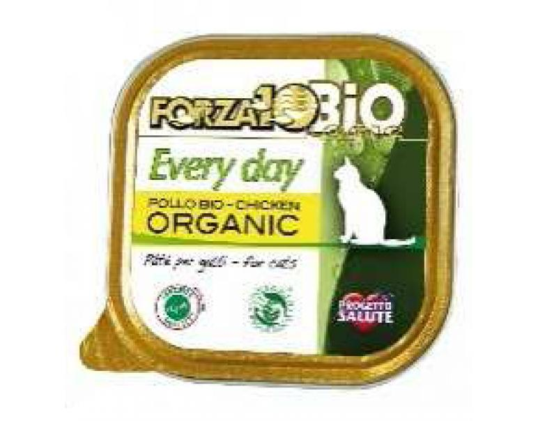 Forza10 Every Day Gato 100% Carnes Pollo Biológicas para Gatos 100g