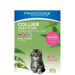 Francodex Collar Natural Repelente Gatitos 35cm