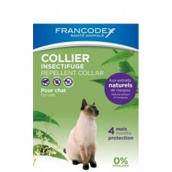 Francodex Collar Natural Repelente Gatos 35cm