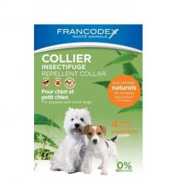 Francodex Collar Natural Repelente Perro 35cm