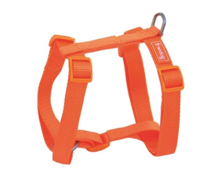 Freedog Arnés Nylon Basic para Perros Naranja 25mm