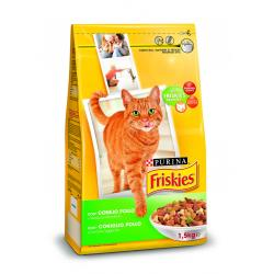 Friskies Cat Conejo/Pollo/Verdura 6x1,5kg
