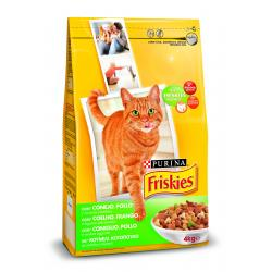 Purina Friskies Cat Conejo/Pollo/Verdura 4x4kg