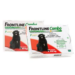 Frontline Combo Spot on 6 Pipetas Antiparasitarias +40 kg