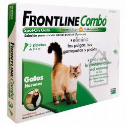 Frontline Combo Spot-On Gato 18 Pipetas x 0.5ml