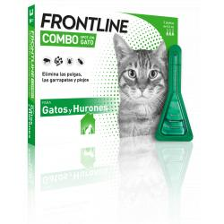 Frontline Combo Spot-On Gatos (3 Pipetas)