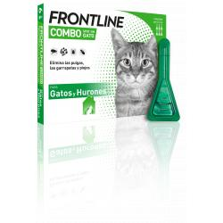 Frontline Combo Spot-On Gatos (6 Pipetas)