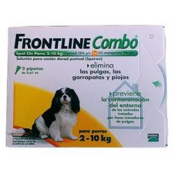 Frontline Spot Combo Pipetas antiparásitos 1 Pipeta