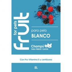 Fruit for Pets Champu Pelo Blanco 5L