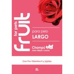 Fruit for Pets Champu Pelo Largo Jojoba 5L