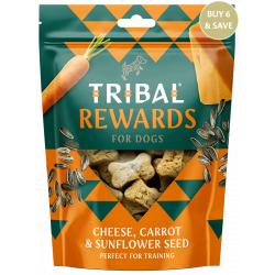 Tribal Galletas Natural Care de Queso, Zanahoria y Semillas de Girasol para Perros 130g