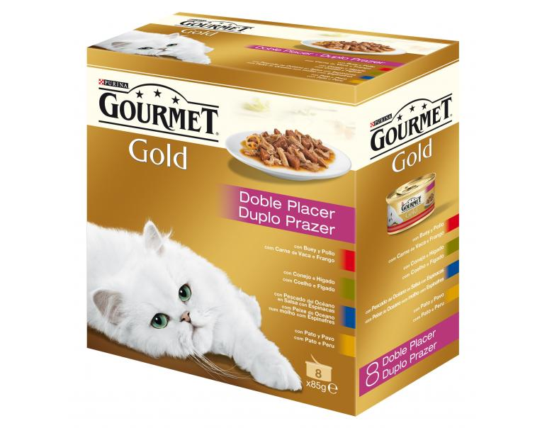Gourmet Gold Pack Doble Placer 12x8x85g