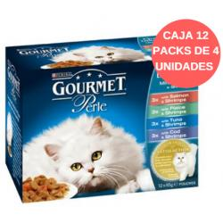 Pack 12 Packs x 4 Perle Mutipack Delicia Océano