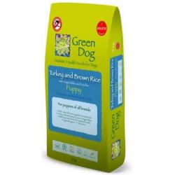 Green Dog Pienso Holístico Cachorro Pavo y Arroz Integral 12kg