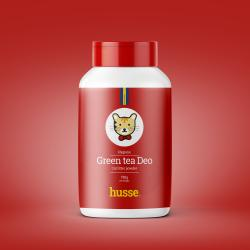 Husse Green Tea Deo Desodorante para Gatos 750ml