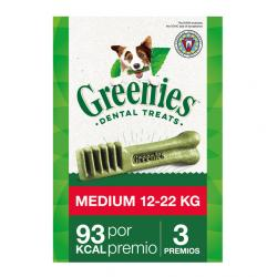 Greenies Medium Snaks Dentales M 85 g , unitario