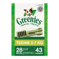 Greenies Teenie Snaks Dentales XS 340 g (43Uds)