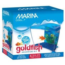 Hagen Marina Acuario Cool Goldfish 6.7 L Color Azul