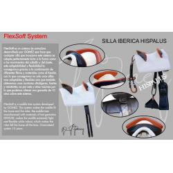 Hermanos Gómez Silla Vaquera Hispalus Sistema Flexsoft Color Negro