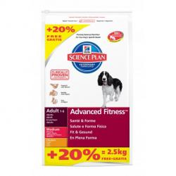 PACK AHORRO Hill's Science Plan Adult Advance Fitness Pollo 2x12kg