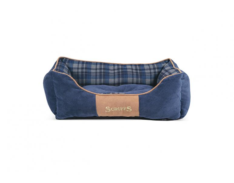 Scruffs Highland Box Bed Azul L 75 x 60 cm