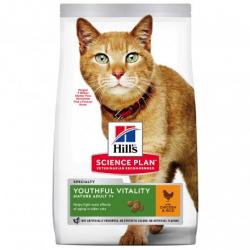 PACK AHORRO Hill's Adult 7+ Youthful Vitality con Pollo y Arroz Pienso para Gatos 2x1,5kg