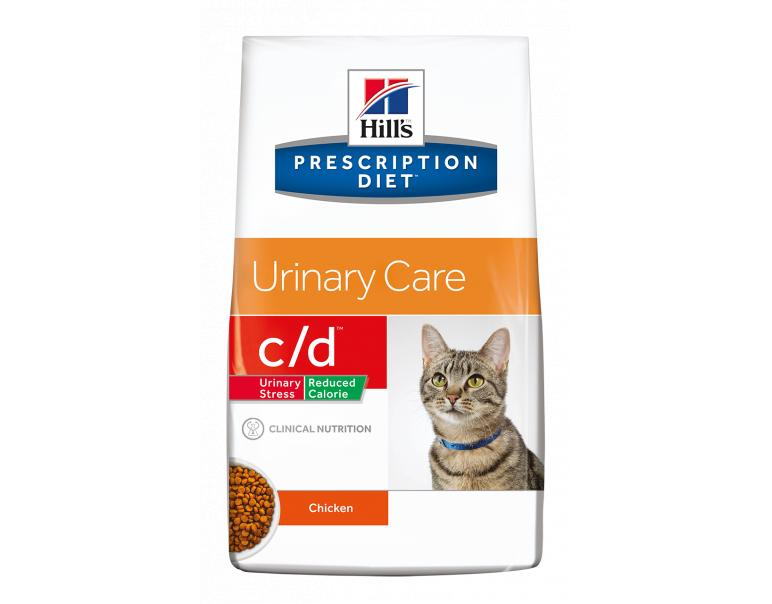 Hill's Prescription Diet c/d Reduced Calorie Gatos Tracto Urinario 4kg