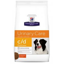 Hill's Prescription Diet c/d Multicare Perro Tracto Urinario 12kg
