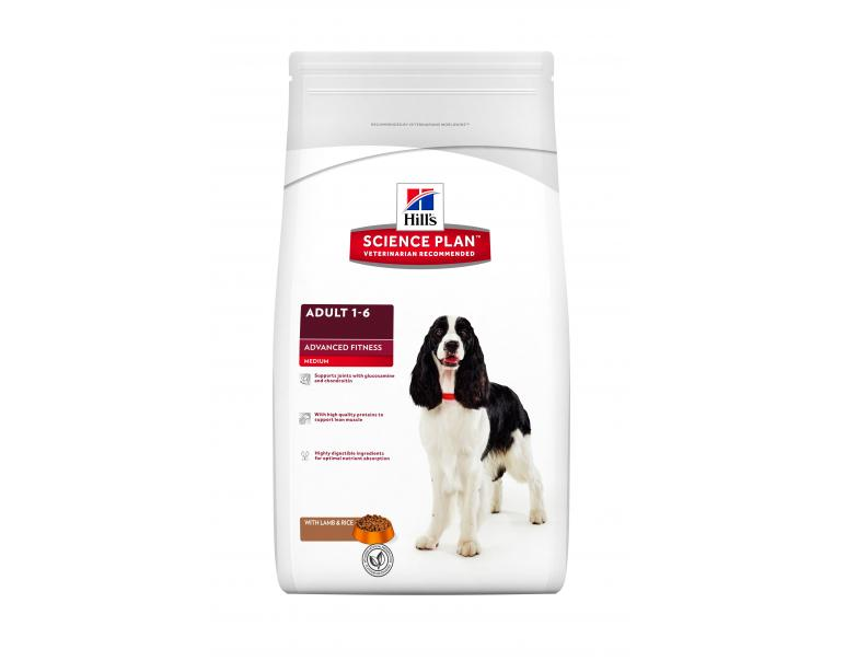 Hill's Science Plan Perro Adult Raza Mediana Cordero y Arroz 3kg
