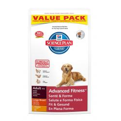 Hill's Canine Adult Advanced Fitness Razas Grandes con Pollo 18kg
