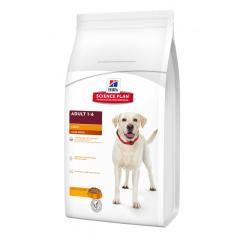 Hill's Science Plan Perro Adult light Raza Grande Pollo 12kg